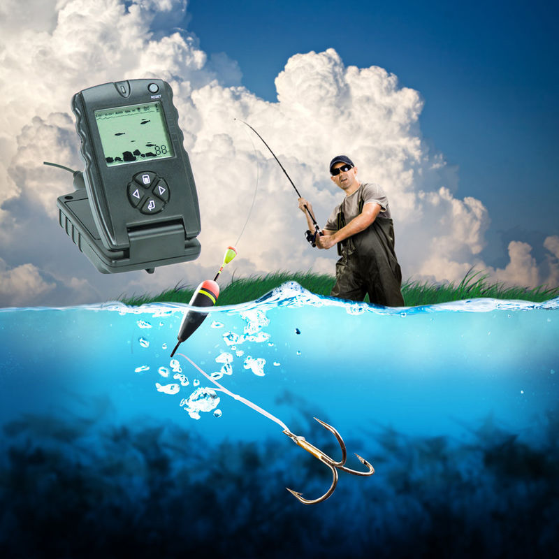Broadband Sonar Elite - 3x GPS Fish Finders with 54/859 Chartplotter Base Combo